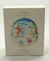 Hallmark Dated 2008 Ornament Snowball Fight
