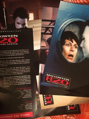 halloween h20 german lobby cards set jamie lee curtis josh hartnett horror photo 30off - Josh Hartnett Halloween
