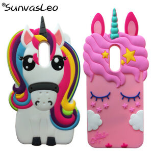 on sale 7f42e fff0c For Xiaomi Redmi 5 Plus 3D Unicorn Cases Cartoon Soft Silicone Phone ...