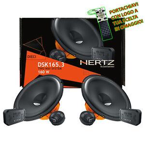 Hertz-DSK-165-3-Kit-4-Casse-Auto-Altoparlanti-2Vie-Set-6-Pezzi-165mm-Linea-Dieci