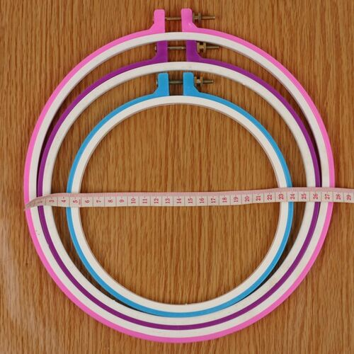 Embroidery Hoop Circle Round Frame Art Craft DIY Cross Stitch UK