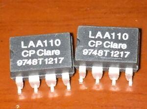 5PCS LAA110 Dual Pole OptoMOS Relays SOP8