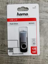 Artikelbild Hama 108071 ROTATE 128GB USB 2.0 SCHWARZ/SILB Schwarz-Silber