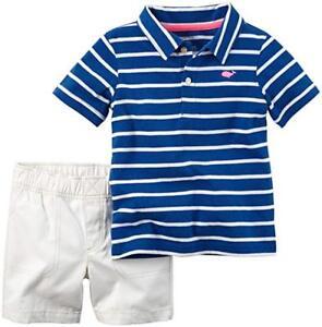 f124e7271e Carter's Baby Boys' 2 Pc Playwear Short Sleeve Polo Shirt Sets (Buy ...