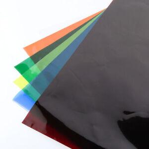 AU-Colors-Lighting-Filter-Gel-Sheets-40x50cm-16-039-x20-034-For-Video-Camera-Studio