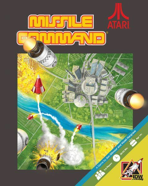 Missile Command - ATARI themed Board Game - iDW - NEW and Sealed