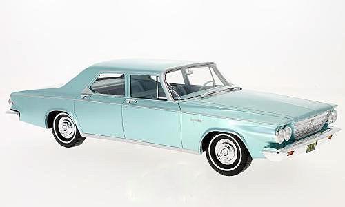 1963 Chrysler Newport 4-porte BERLINE VERT CLAIR atteint par Bos Models Limited Edition of 504 1 18