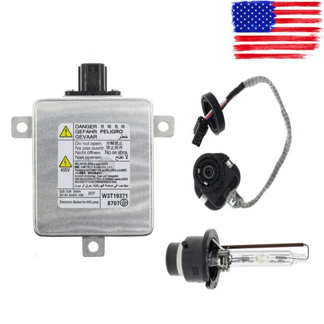 HID Xenon Ballast & Igniter & D2S Bulb Headlight For Mazda