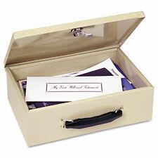 Heavy Duty Insulated Steel Fire Retardant Security Cash Box Key Safe With Lock