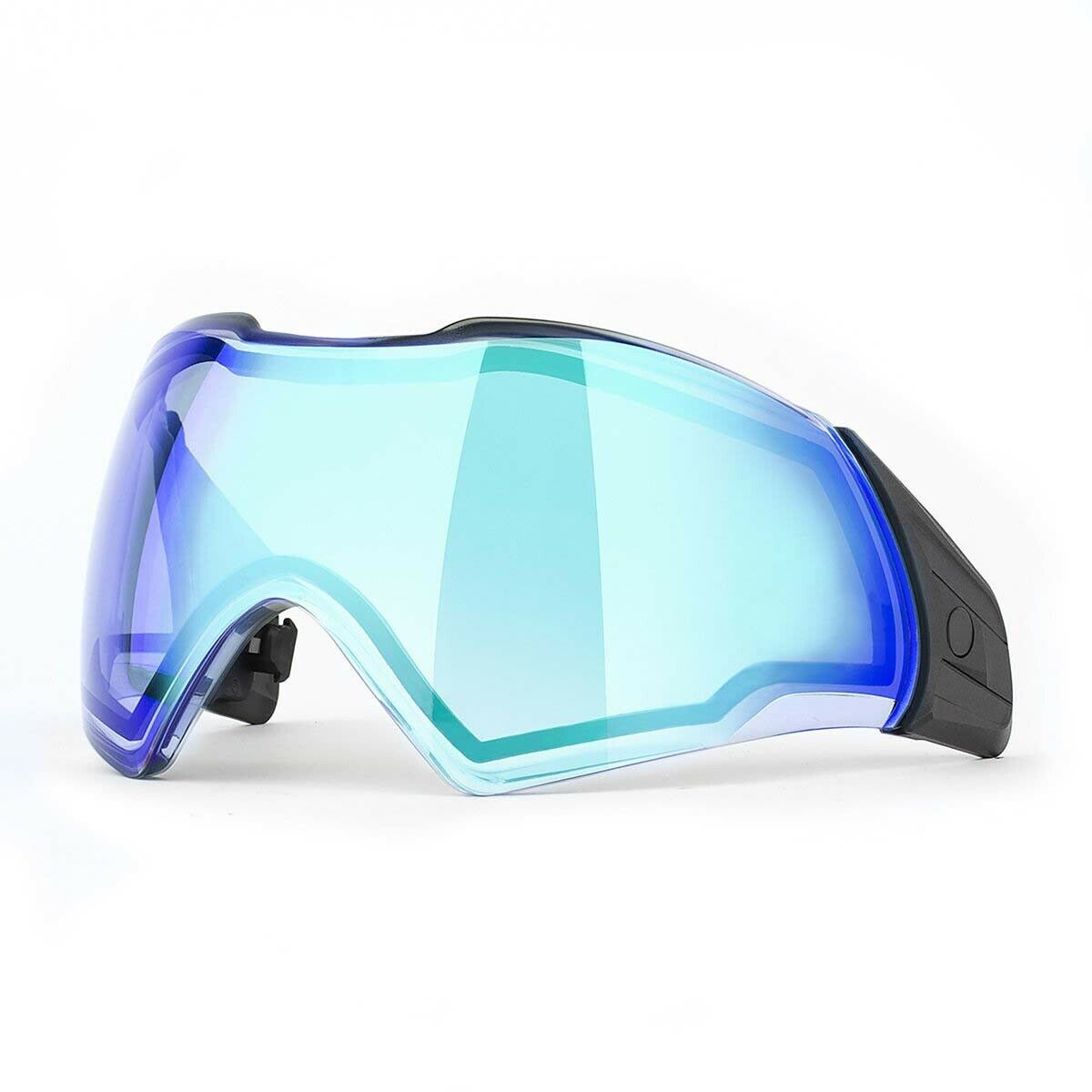 Push Unite Thermal Paintball Goggle Lens  Chrome blu