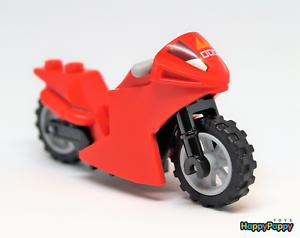 Lego 10739 Ninjago Minifigur Kai/'s Motorrad rot Motor Bike red Neuware New