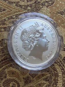 2003-Australian-KANGAROO-1-Troy-Oz-999-Fine-Silver-Coin-In-Original-Capsule-BU