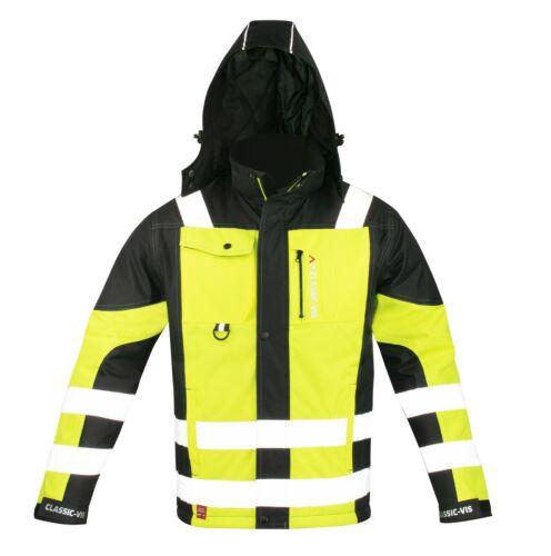 Arbeitsjacke Winterjacke Berufsjacke Winter Schutz Jacke Regen Wasserabweisend