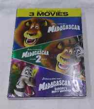 MADAGASCAR / ESCAPE 2 AFRICA / MADAGASCAR 3: EUROPE'S MOST WANTED DVD + DIGITAL