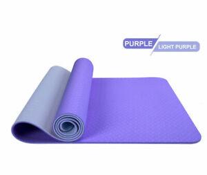 Multifunctional-double-yoga-mat-no-body-line-purple-Light-purple