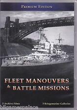 'Fleet Manouvers & Battle Missions' of the Kriegsmarine (DVD 2011)