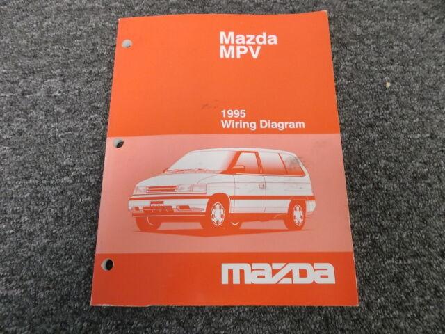 1995 Mazda Mpv Factory Original Electrical Wiring Diagram
