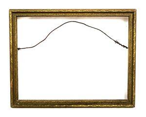 Antique-Art-Nouveau-Ornate-Gold-Gilt-Gesso-Picture-Frame-Fits-8-034-x-6-034