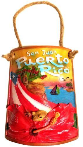 "8/"" Inch Puerto Rico Home Decorative Souvenirs Tile Shingle Wall Rican PR COQUI"