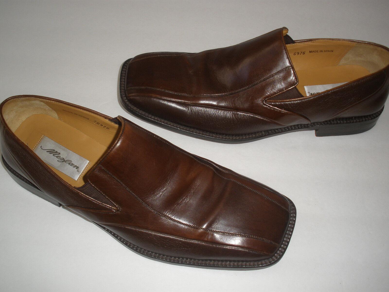 @ MEZLAN GENUINE 2 TONE LEATHER LOAFERS US 11.5 HOT HANDMADE IN SPAIN Scarpe classiche da uomo