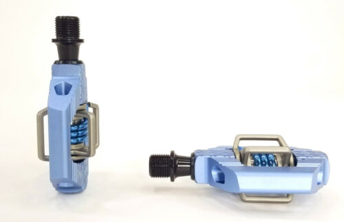 Slate Blue w// Cleats Crank Brothers Candy 3 Mountain Bike Pedals