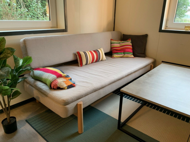 Sofa, stof, 3 pers. , Ikea Hay, 'Ypperlig' sofa/daybed fra…
