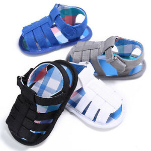 New-Baby-Infant-Kids-Soft-Sole-Canvas-Crib-Shoes-Toddler-Newborn-Sandals-Shoes