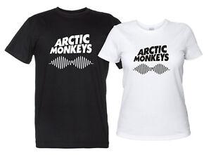 Arctic-Monkeys-Maglietta-Rock-Band-T-Shirt-Tributo-Donna-Uomo-Replica-Logo