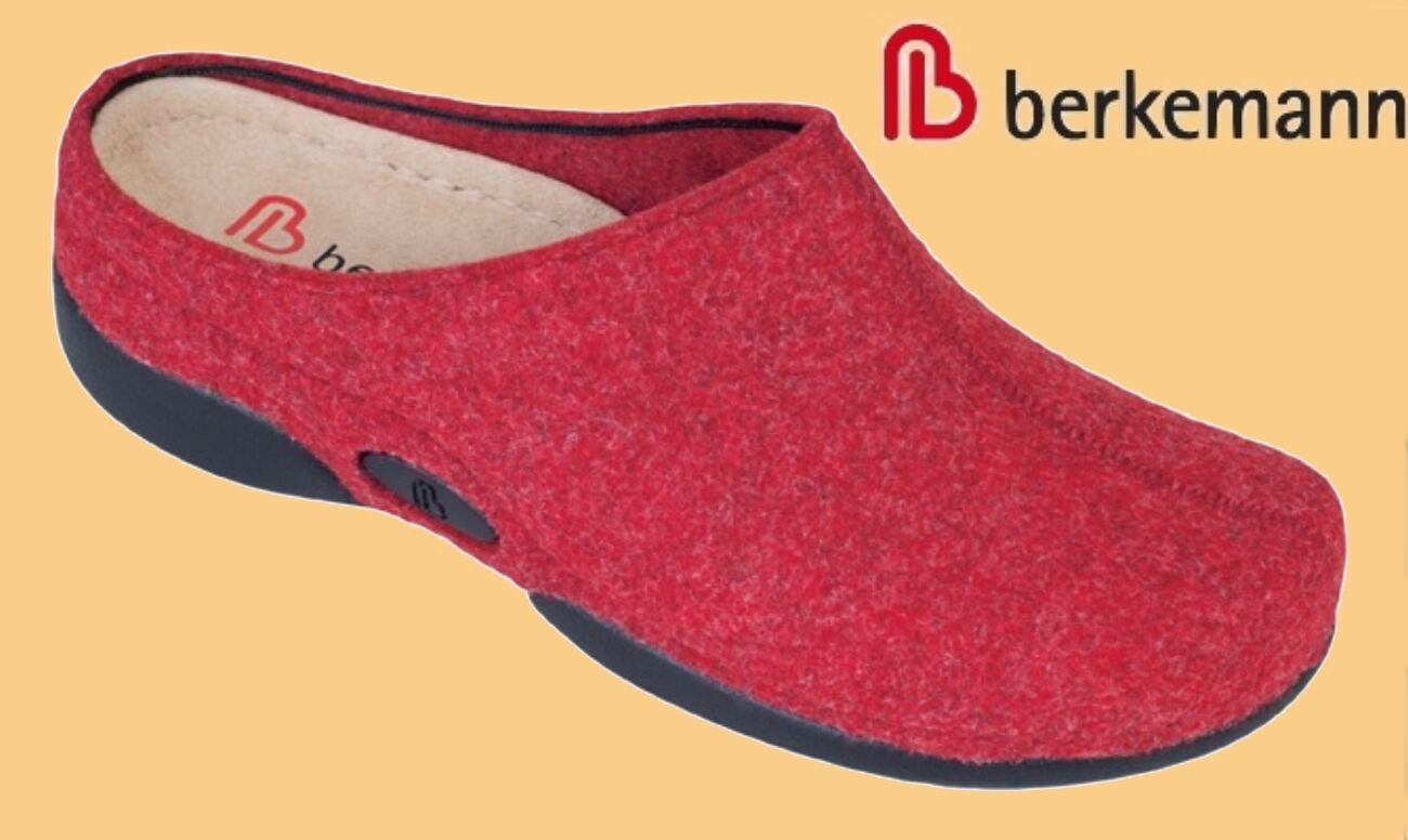 Hausschuhe Pantoffeln Berkemann Filz Clogs - Damen SUPERWEICH Berkina 3 - Clogs 10 41cd80