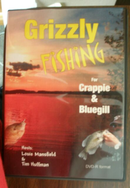 Details about REELFOOT LAKE FISHING DVD FOR CRAPPIE AND BLUEGILL (GRIZZLY  FISHING) POLE ROD