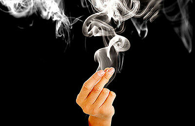 Close-Up Magic Trick Finger's Smoke Hell's Smoke The Best Stage Accessories