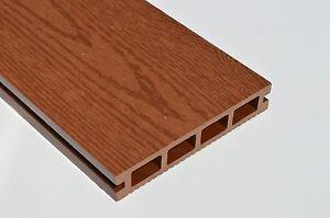 Detalles Acerca De Compuesto De Plástico De Madera Terraza 140 Mm X 25 Mm X 2900 Mm Nuevo Imitación Madera Marrón Rojo Mostrar Título Original