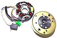 Upgraded Stator Flywheel Set Yerf Dog Spiderbox 150cc Gx150 Howhit Go Kart