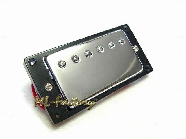 Chrome Ivory Ring NEW Wilkinson WMHR AlNiCo V Mini Humbucker Pickup P90