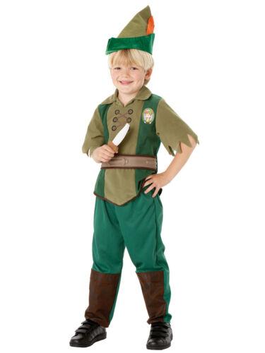 Ragazzi Disney Peter Pan NEVERLAND Libro Settimana Costume Vestito da bambino Kids