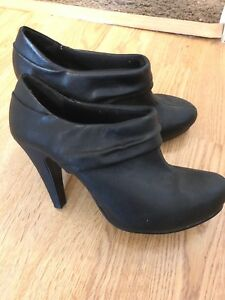 f8f655d6a11 Details about Madden Girl Black Castillo Boots Ankle Booties High Heel Size  7 New without Box