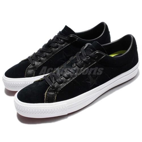 en Pro Chaussures cuir basses Star classiques Converse Baskets Hommes noir One xEYPzwqX