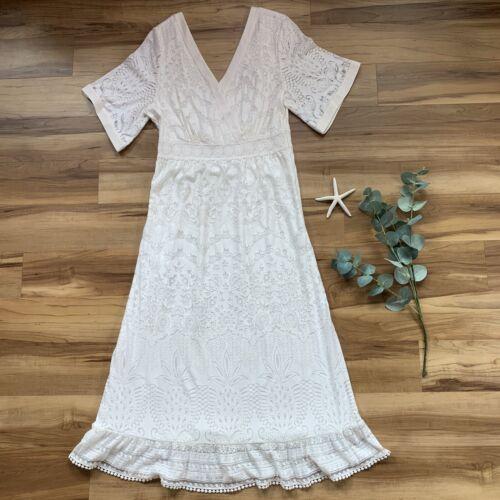 Anthropologie Farm Rio Devore Dress, Size Small