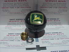 John Deere, custom shift knob (Black pearl) Car, Truck, Hot Rod MADE IN THE USA