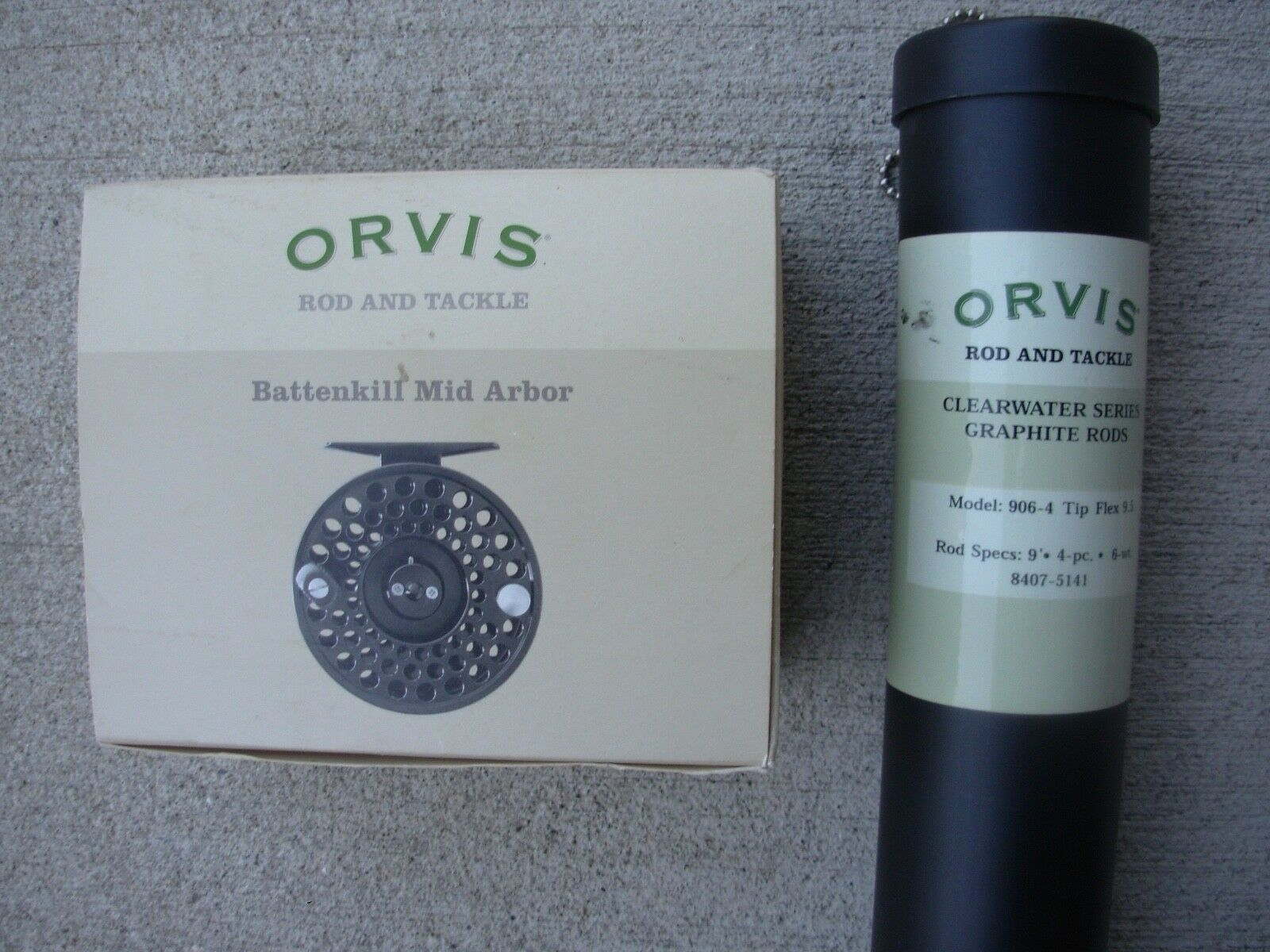 Orvis Clearwater Rod & Battenkill III Reel Combo Outfit  9ft 4pc 6w 9.5 flex  presenting all the latest high street fashion