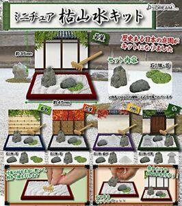 J-DREAMJ-Karesansui-kit-Gashapon-5set-mascot-capsule-toys-Figures-Complete-set