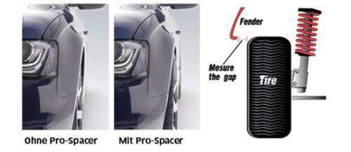 C292,166,15- Eibach Spurverbreiterung schwarz 50mm System 7 Mercedes GLE Coupe