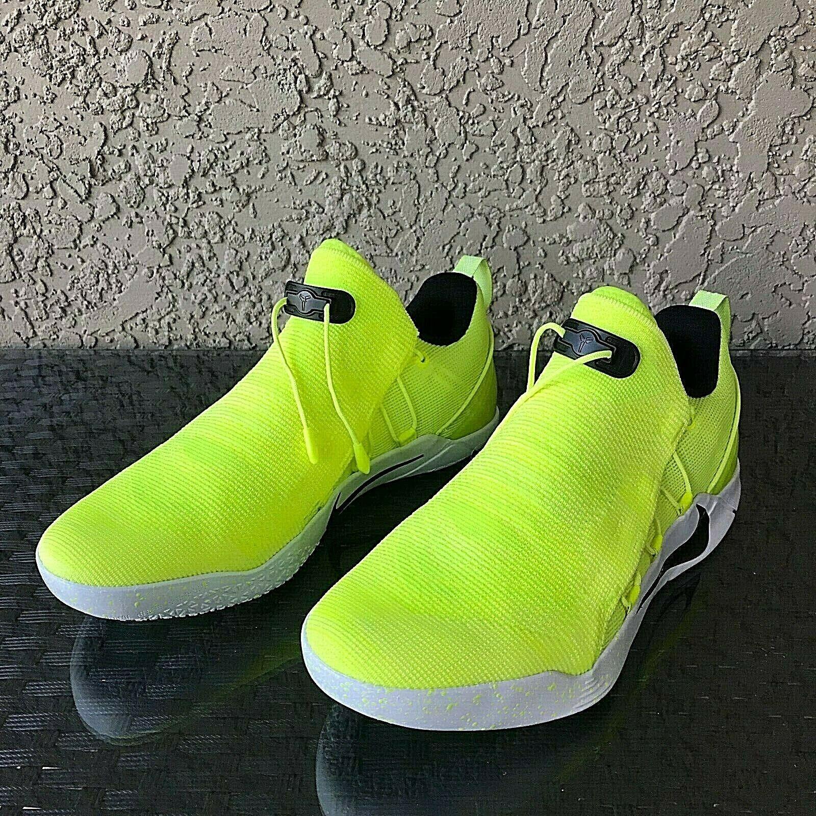 Nike Kobe Bryant AD NXT HMD Mens Size 10 Volt White Black 916832-710 Rare