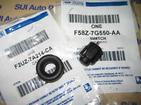 Ford Lincoln Transmission Overdrive Shift Lockout Switch & Bezel