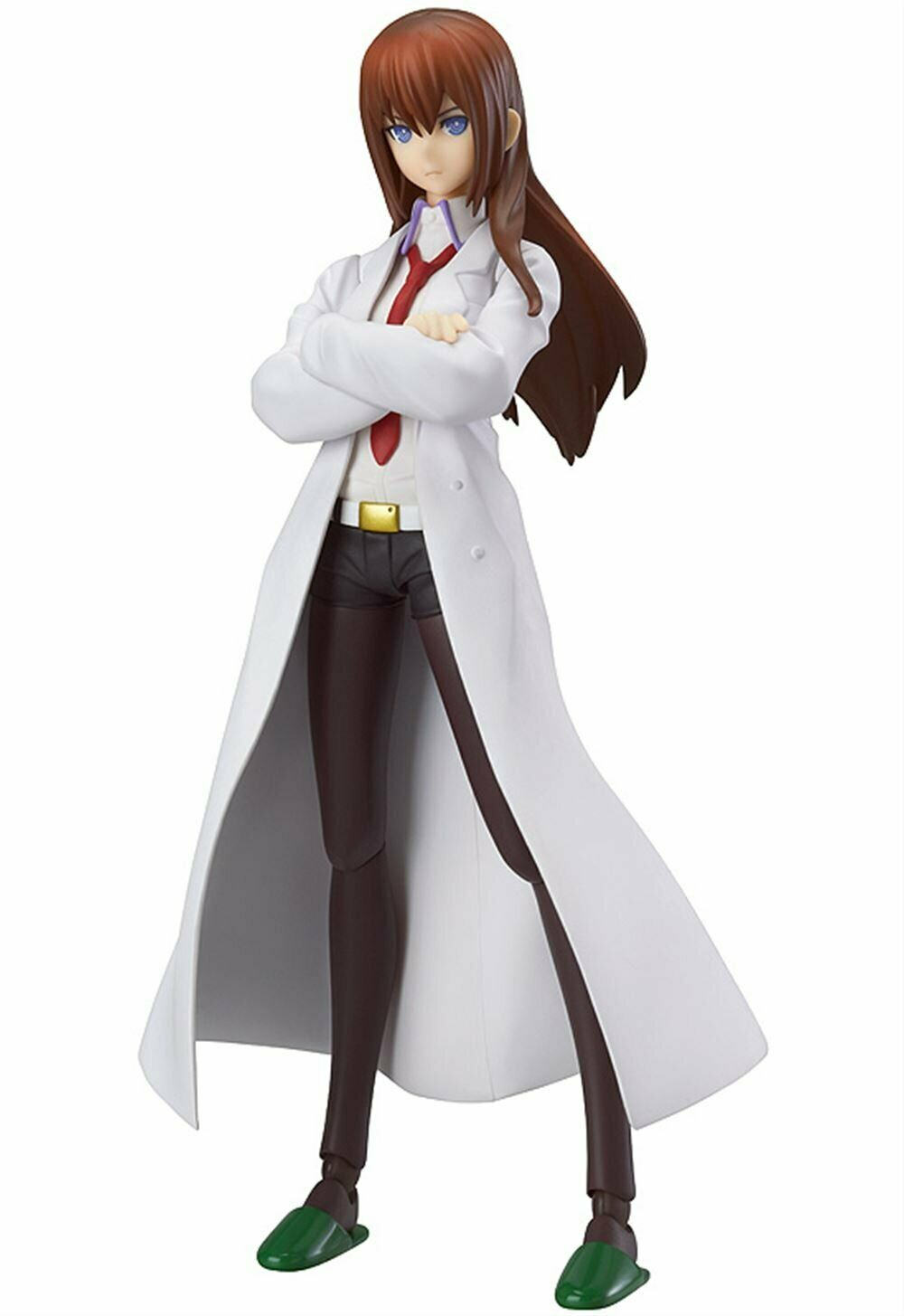 Figma Steins Gate Kurisu Makise Weiß Coat Figure Max Factory Used