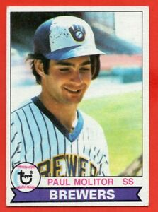 1979-Topps-24-Paul-Molitor-EX-EXMINT-HOF-Milwaukee-Brewers-FREE-SHIPPING