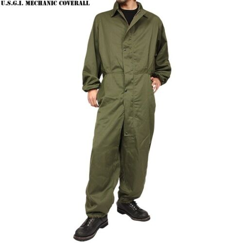 New US Military Mechanics COVERALLS Cold Weather UTILITY Work Small