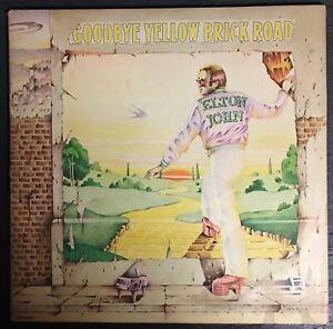 ELTON JOHN Goodbye Yellow Brick Road MCA 2XLP VG+ gatefold Vinyl Record Album LP