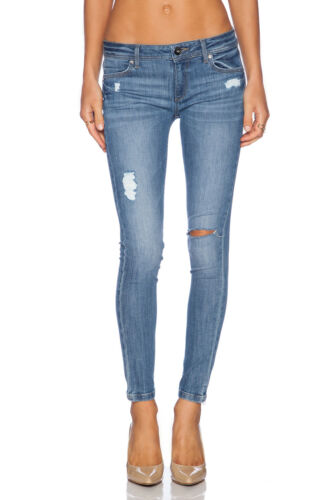 DL1961 EMMA Distressed Skinny Leg Jeans in REMINGT