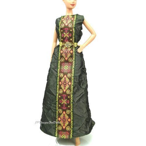 Poupée Barbie robe de robe princesse d/'Irlande dolls of the World